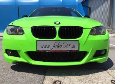Folierung BMW 3 by Foliocar Bele Boštjan