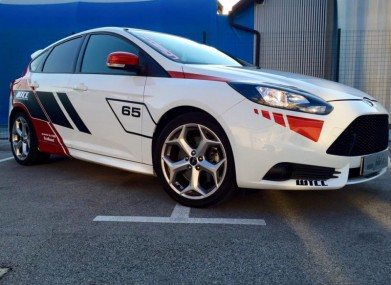 Folierung Ford Focus ST by Foliocar Bele Boštjan
