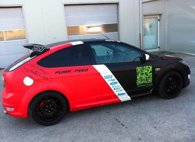 Folierung Ford Focus ST KPL by Foliocar Bele Boštjan
