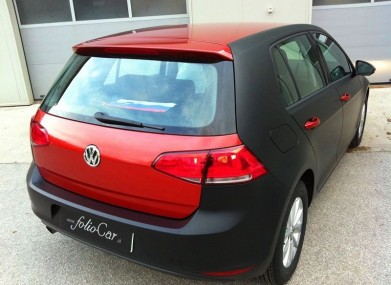 Folierung VW Golf VII KPL by Foliocar Bele Boštjan