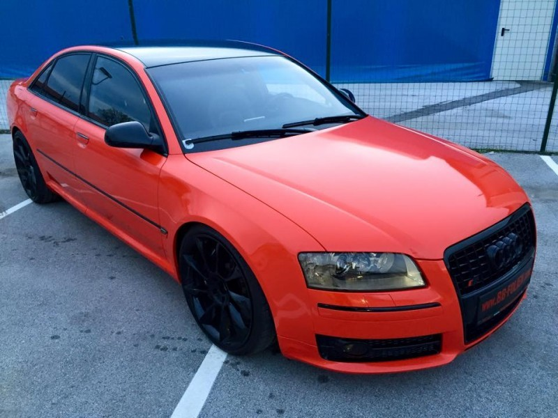 Audi S8 Normal Cars Gallery Bb Folien Foiling