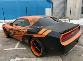 DODGE CHALLENGER SRT by BB-Folien Bele Boštjan